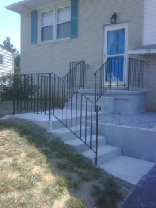 Concrete Stairway and Porch